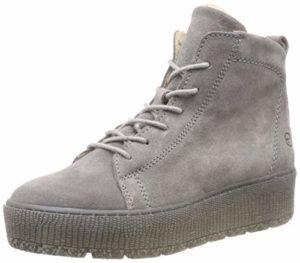 Tamaris Damen 26256-21 Combat Boots, Grau (Light Grey 254), 39 EU