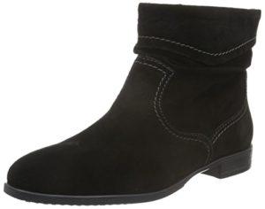 Tamaris Damen Stiefelette Schwarz, Schuhgröße:EUR 36