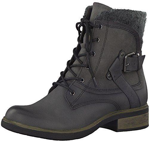Tamaris Damenschuhe 1-1-25101-29 Damen Stiefel, Boots, Damen Stiefeletten, Herbstschuhe & Winterschuhe für modebewusste Frau braun (Muscat), EU 39