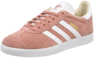 adidas Damen Gazelle Fitnessschuhe, Pink (Roscen/Ftwbla 000), 38 EU
