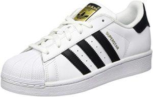 adidas Originals Superstar, Unisex-Kinder Sneakers, Weiß (Ftwr White/Core Black/Ftwr White), 37 1/3 EU (4.5 Kinder UK)