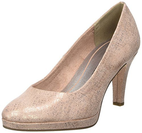 Marco Tozzi Damen 22404 Pumps, pink (rose metallic), 39 EU