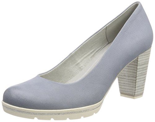 Marco Tozzi Premio Damen 22419 Pumps, Blau (Denim), 39 EU