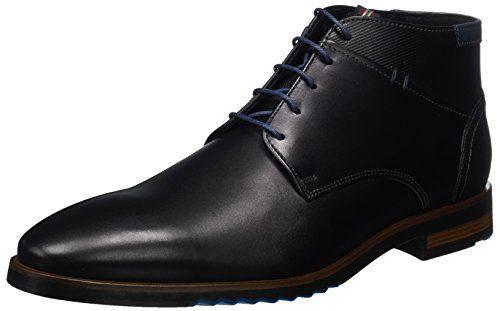 LLOYD DINO, Herren Klassische Stiefel, Schwarz (Schwarz/Blue 1), 42 EU (8 UK)