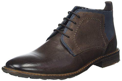 LLOYD Herren Dingo Klassische Stiefel, Braun (Ebony/Tobacco/Pacific 2), 42 EU