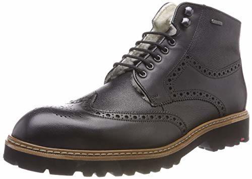 LLOYD Herren VARON Klassische Stiefel, (Schwarz 0), 46 EU