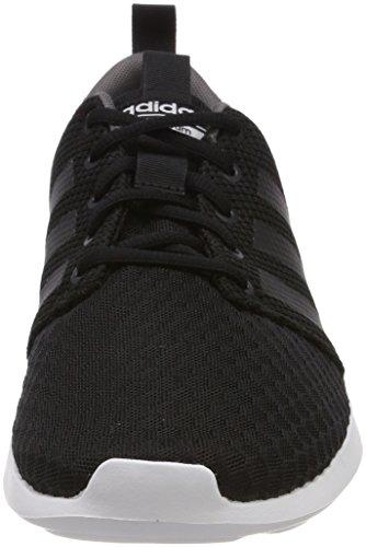 adidas Herren Cloudfoam Swift Racer Fitnessschuhe, Schwarz (Negbás/Carbon/Gricin 000), 43 1/3 EU