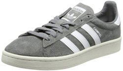 adidas Herren Campus Sneakers, Grau (Grey Three F17/ftwr White/chalk White), 43 1/3 EU