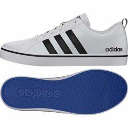 adidas Herren VS Pace Sneaker, Mehrfarbig (Ftwbla/Negbás/Azul 000), 45 1/3 EU