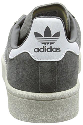 adidas Herren Campus Sneakers, Grau (Grey Three F17/ftwr White/chalk White), 43 1/3 EU