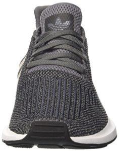 adidas Herren Swift Run Laufschuhe, Mehrfarbig (Grey Four F17/core Black/FTWR White), 43 1/3 EU