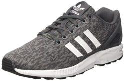adidas Herren Flux BY9423 Sneaker, Mehrfarbig (White, Grey 001), 43 1/3 EU