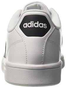 adidas Herren Cloudfoam Advantage Sneaker, Grau (Ftwwht/cblack/ftwwht), 42  EU