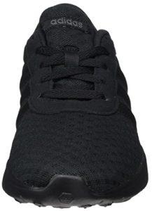adidas Unisex-Erwachsene Lite Racer Sneaker - Schwarz (Negbas / Negbas / Gricin 000) , 46 EU