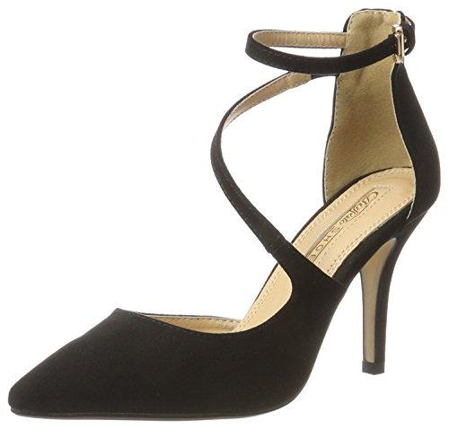 Buffalo Shoes Damen 315349 Pumps, Schwarz (Black 01), 39 EU