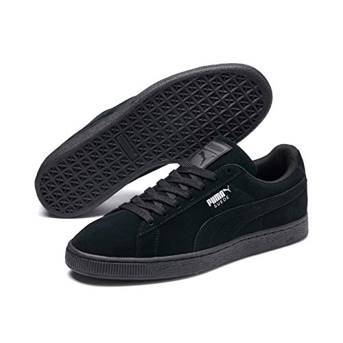 PUMA Herren Suede Classic+ Sneaker, Schwarz (black-dark shadow), 45 EU