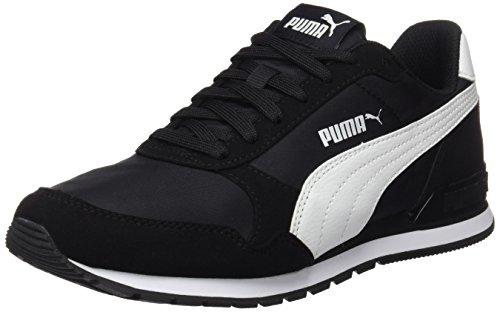 PUMA Unisex-Erwachsene St Runner V2 Nl Sneaker, Schwarz (Puma Black-Puma White), 44 EU(9.5 UK)