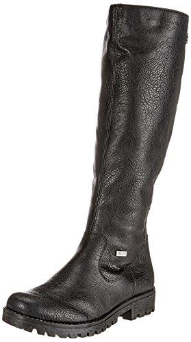 Rieker Damen 78554 Stiefel, Schwarz 00, 40 EU
