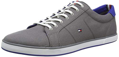 Tommy Hilfiger Herren H2285ARLOW 1D Low-Top, Grau (Steel Grey 039), 43 EU